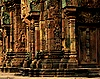 Asian cathedral - Cambodia - Siem Reap province - Angkor - Banteay Srei