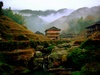 Mist falling over the montain - Guangxi (广西) - Longsheng Rice Terraces (龙胜梯田) - Zhongliu village (中六) - Miao people (苗)