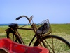 Bicycle on the beach - Shandong (山东) - Qingdao (青岛)