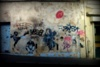 Painted wall - Paris -