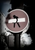 Road sign diversion 2 - Paris -